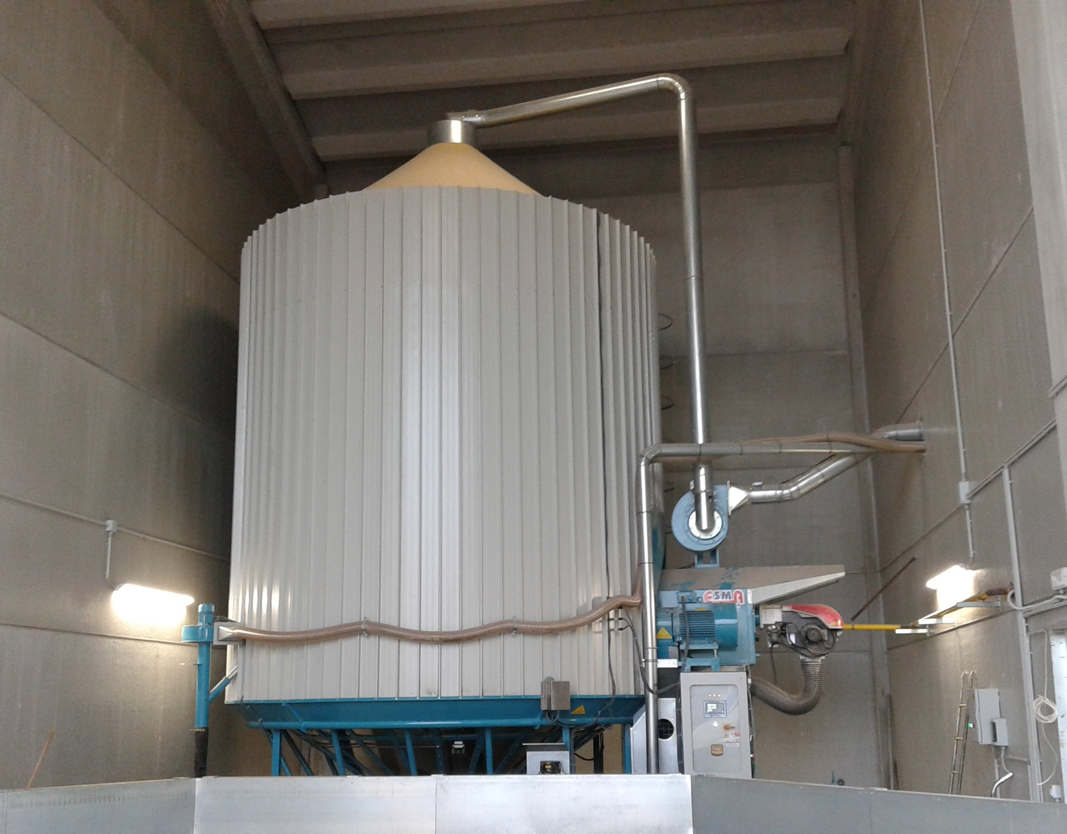 Esma grain dryers are selling all over Europe