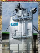 CONTINUOUS CYCLE GRAIN DRYER WITH ENERGY SAVING